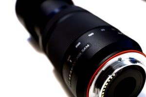 カメラレンズにゴミやカビが付いているときの修理方法