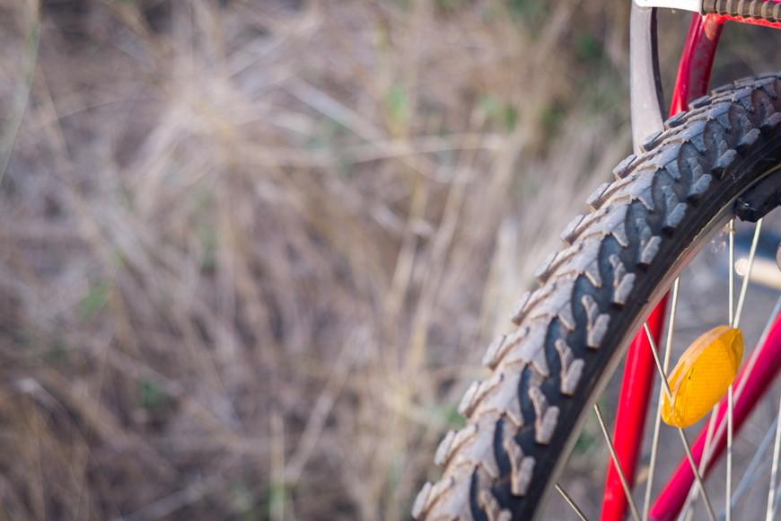 タイヤは最も摩耗しやすいパーツ