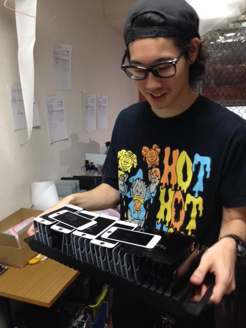 iPhone液晶パネルはこうやって再生される!再生工場に行ってきた