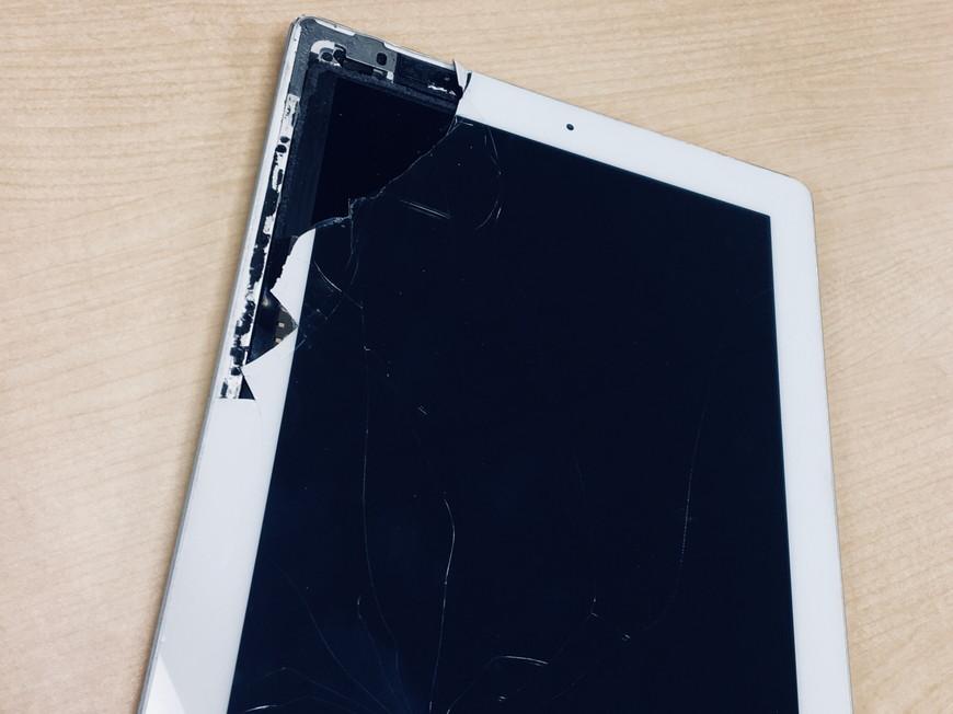 iPadが故障した時には
