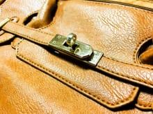 かばんの金具にサビができてしまった時のお手入れ方法