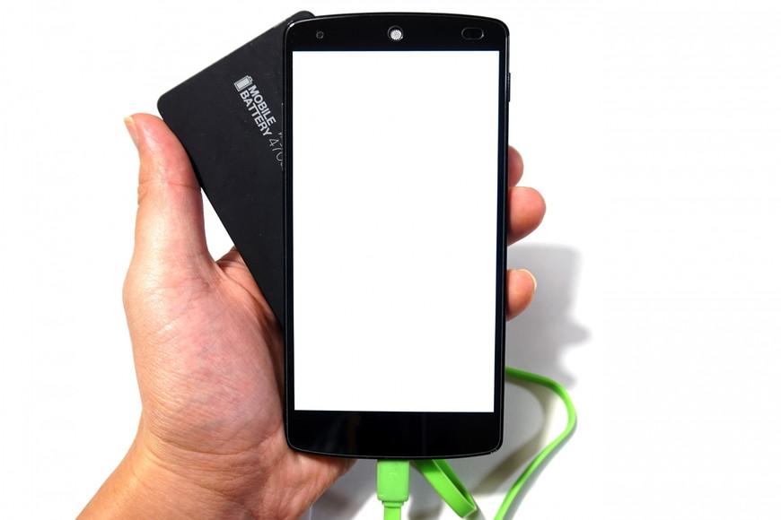スマートフォン充電
