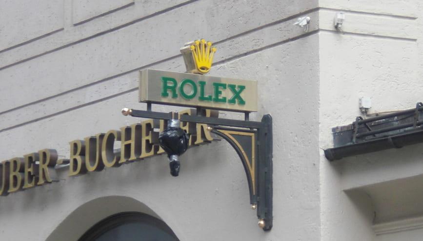 ロレックス店舗
